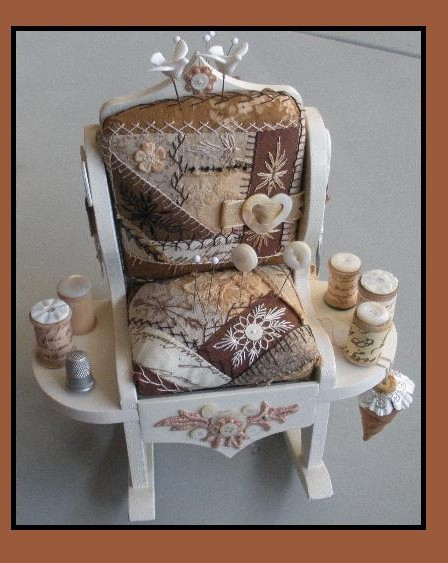chair pin cushion