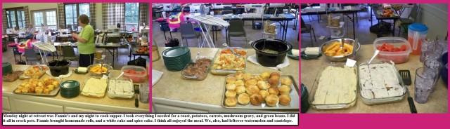 Food retreat