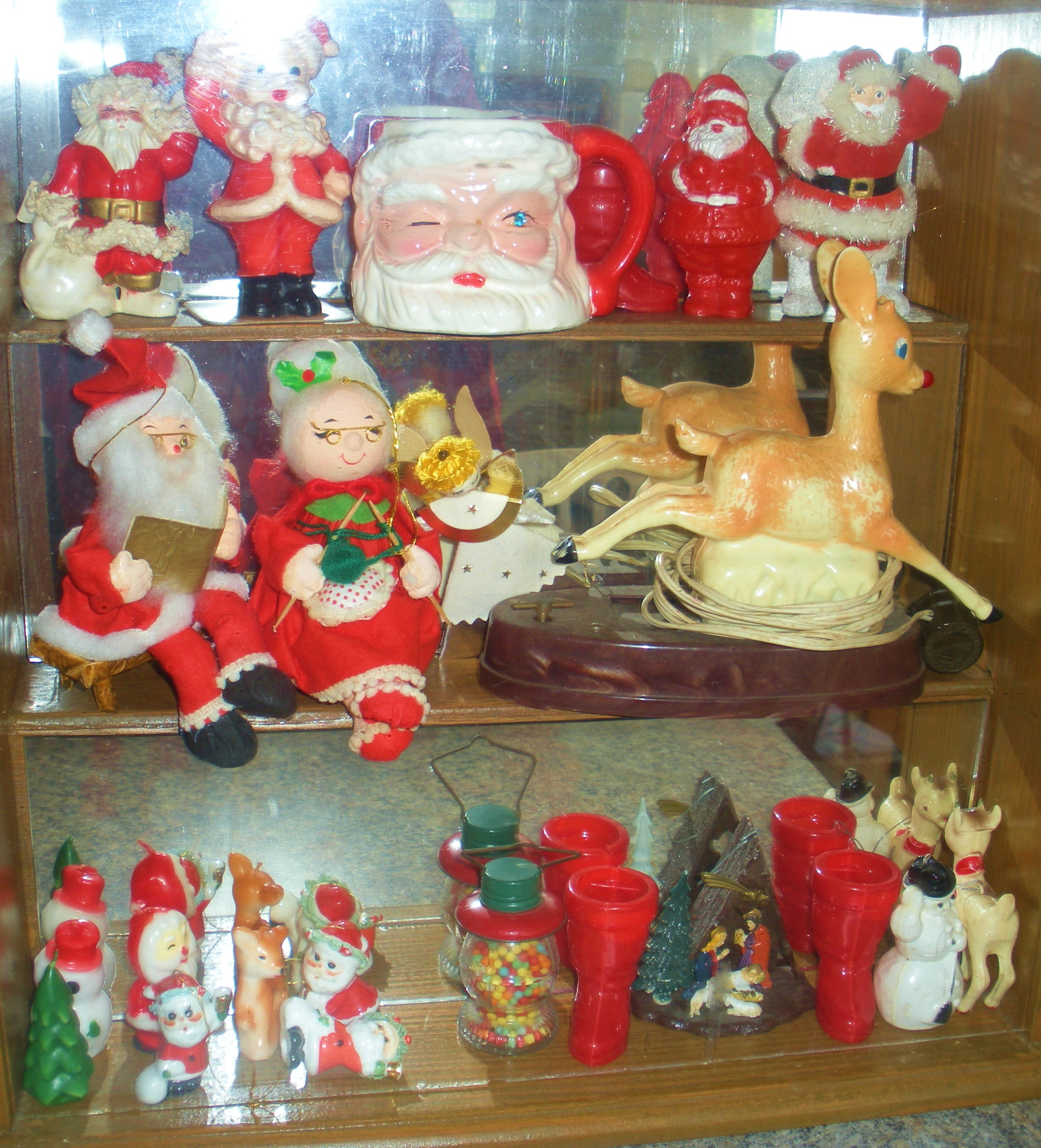 snow day and christmnas collections 133 - 1950s Christmas Decorations