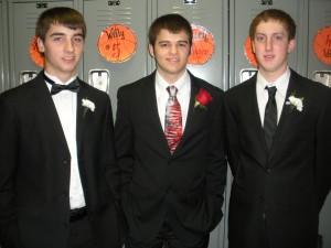 Jordan, Alex and Drew
