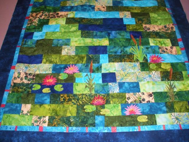 Leah's scrap quilt 021