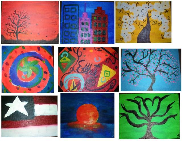 SH paintings