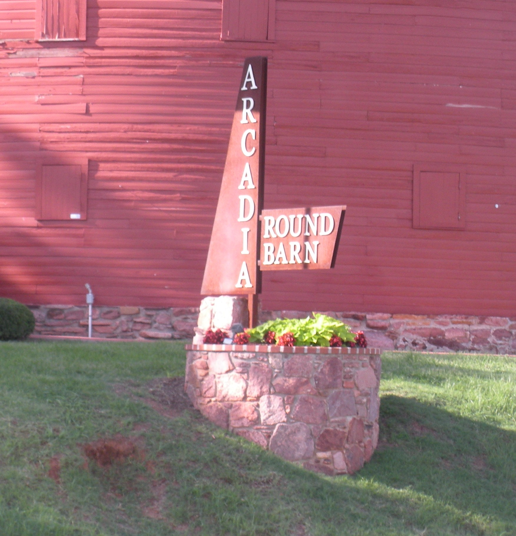The Historic Red Barn Of Arcadia Ok On Route 66 Jim
