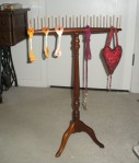 Colonial Thread Stand for Needleworkers