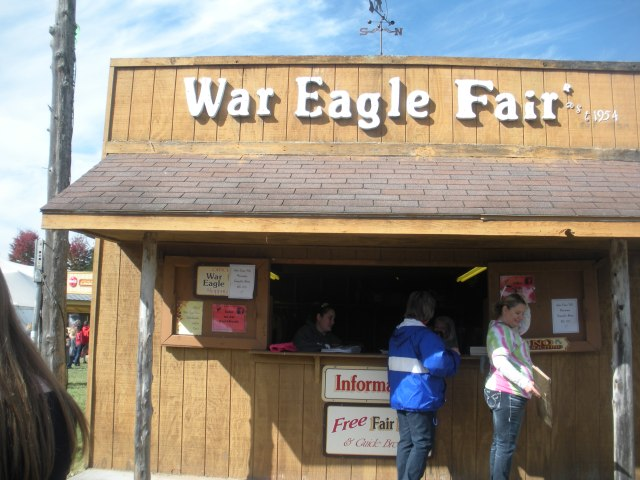War Eagle, apple pecan, Oct 20th 052