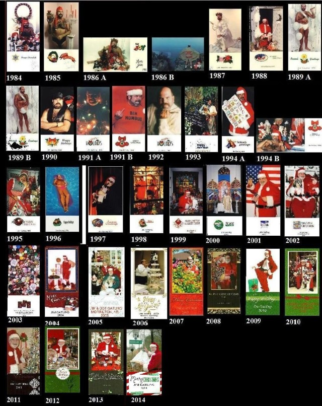 Chriatmas Cards in order 2014