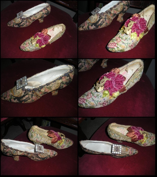 Petit point shoes 1