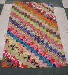 quilt class, finds, watercolor painting amaryllis 085