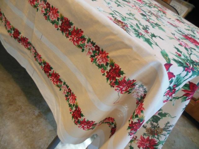 Watercolor tablecloth 007